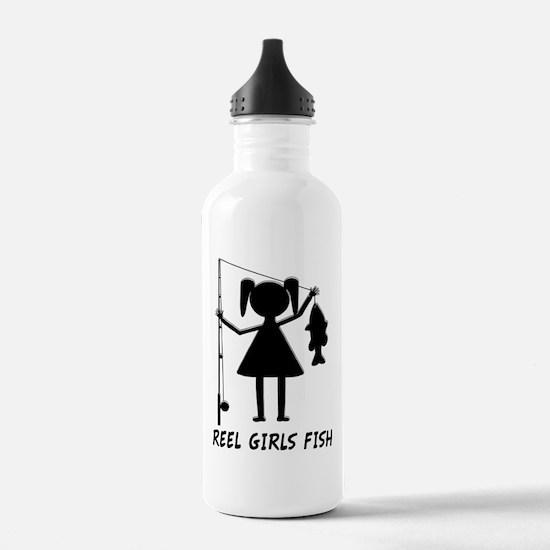 Reel Girls Fish Water Bottle