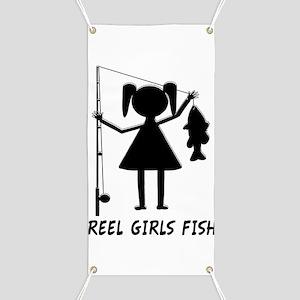 Reel Girls Fish Banner