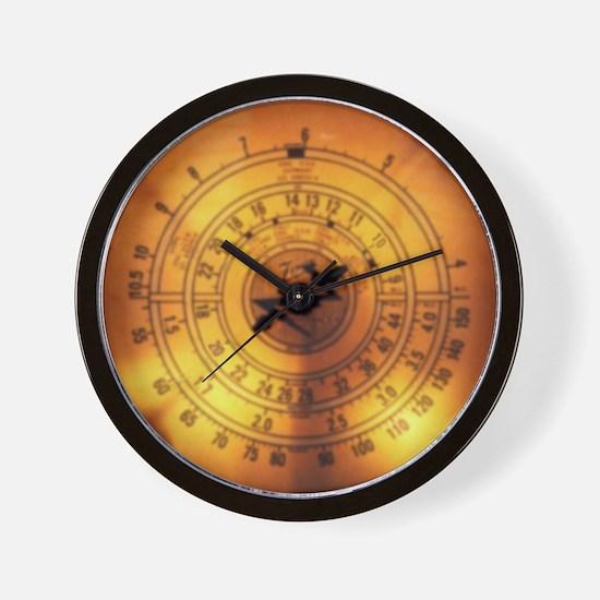 """Glowing Dial"" Wall Clock"