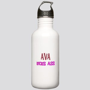 Ava Kicks Ass Stainless Water Bottle 1.0L