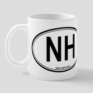 New Hampshire (NH) euro Mug