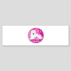 Maltese Sticker (Bumper)