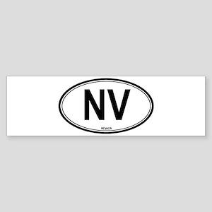 Nevada (NV) euro Bumper Sticker