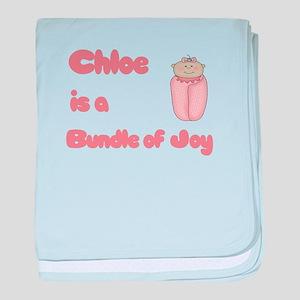 Chloe is a Bundle of Joy baby blanket