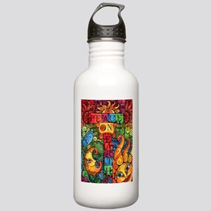 Peace on Earth Stainless Water Bottle 1.0L