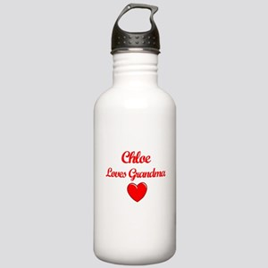 Chloe Loves Grandma Stainless Water Bottle 1.0L