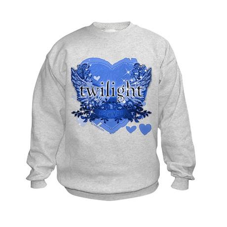 Twilight Midnight Blue Kids Sweatshirt