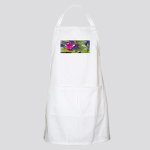 Water Lily Detail Light Apron