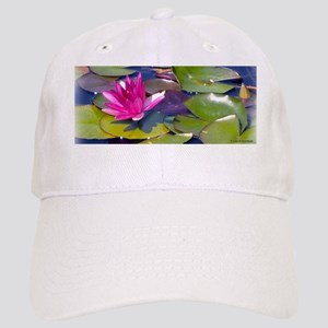Water Lily Detail Cap