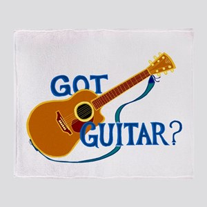 Got Guitar? Throw Blanket
