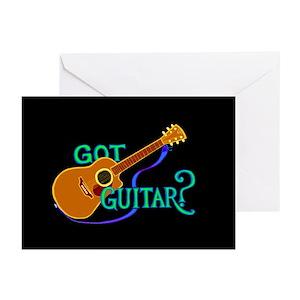 Got guitar greeting cards cafepress m4hsunfo