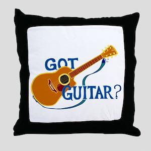 Got Guitar? Throw Pillow