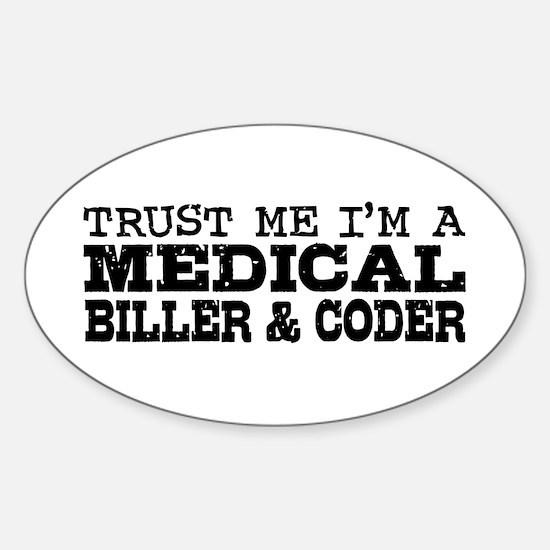 Medical Biller and Coder Sticker (Oval)