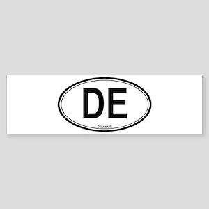 Delaware (DE) euro Bumper Sticker