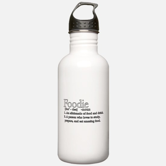 Foodie Defined Water Bottle