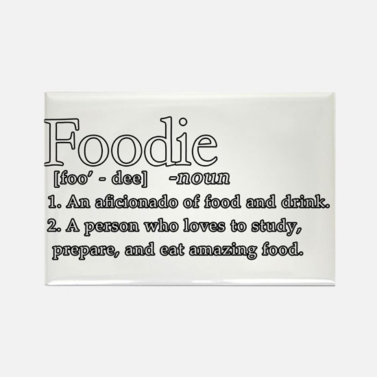 Foodie Defined Rectangle Magnet (100 pack)