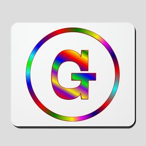 Letter G Mousepad