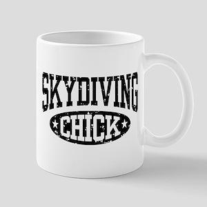 Skydiving Chick Mug