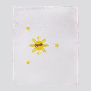 Flipside Sun and Stars Throw Blanket