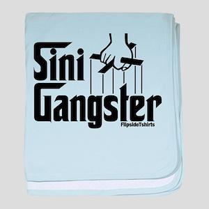 Sini-Gangster baby blanket