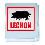 Lechon baby blanket