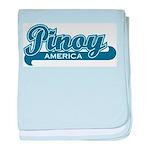 Pinoy America baby blanket