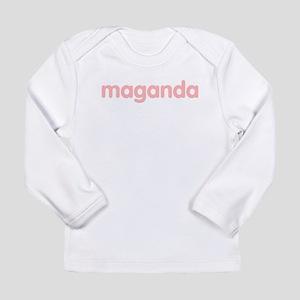maganda Long Sleeve Infant T-Shirt