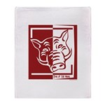 Year of the Boar Throw Blanket
