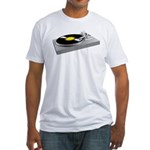 Turntable Fitted T-Shirt