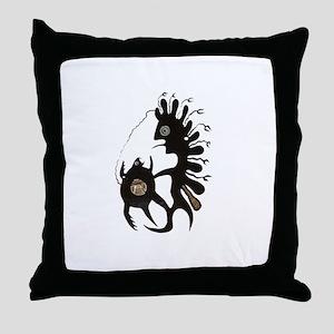 Inuit Art Throw Pillow