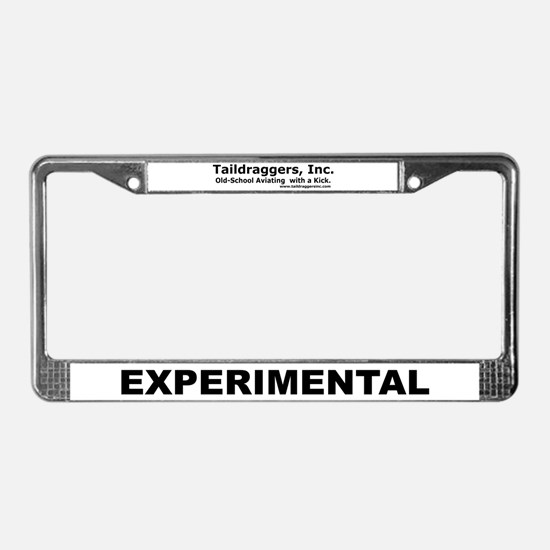 EXPERIMENTAL License Plate Frame