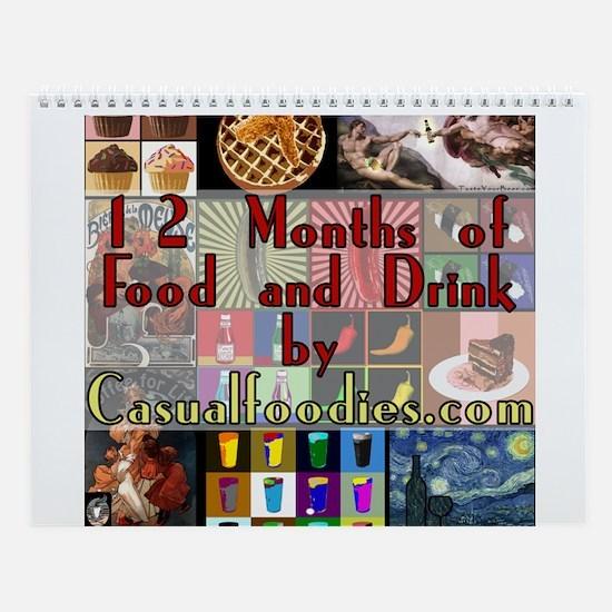 Food and Drink Wall Calendar