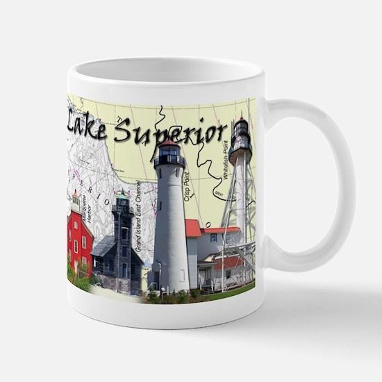 Lighthouses of Lake Superior Mug