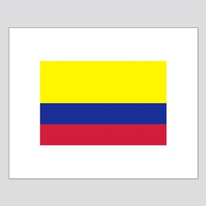 Colombia flag Small Poster