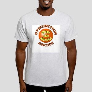 Dysfunction Junction Spank Yo Ash Grey T-Shirt