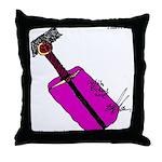 Chrono Blade Throw Pillow