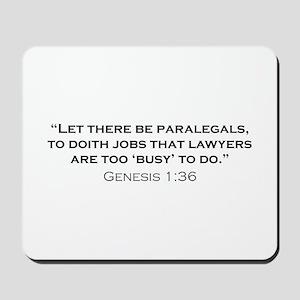 Paralegal / Genesis Mousepad
