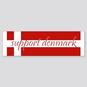 Support Denmark Bumper Sticker