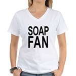 SOAP FAN Women's V-Neck T-Shirt