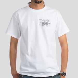 Apollo's Lunar Rover White T-Shirt