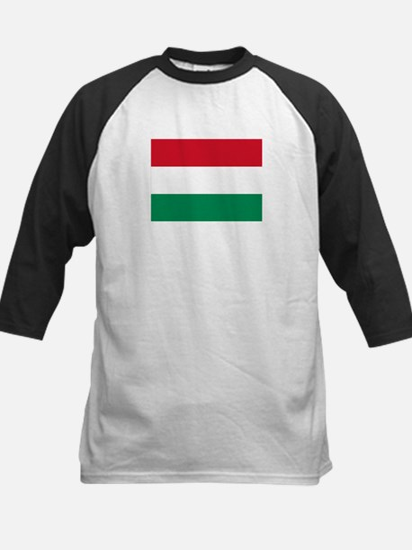 Hungary flag Kids Baseball Jersey