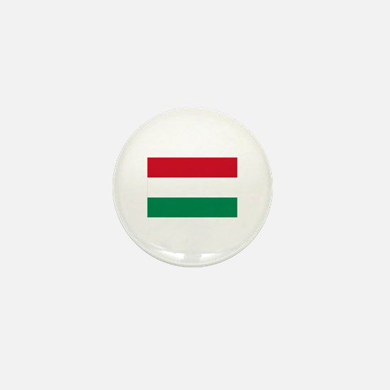 Hungary flag Mini Button