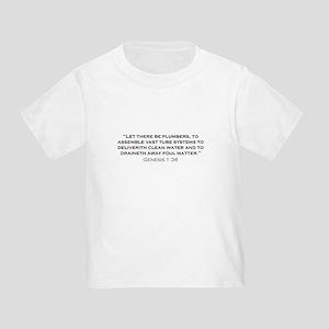 Plumber / Genesis Toddler T-Shirt