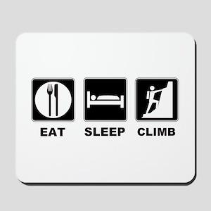 eat seep climb Mousepad