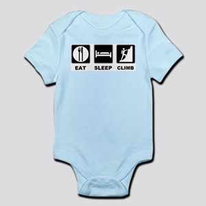 eat seep climb Infant Bodysuit