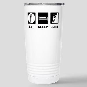eat seep climb Stainless Steel Travel Mug