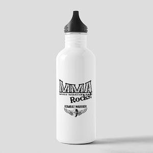 MMA Rocks Grey Stainless Water Bottle 1.0L