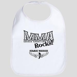 MMA Rocks Grey Bib