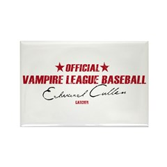 Vampire Baseball Rectangle Magnet