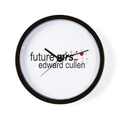 Future Mrs Cullen Wall Clock